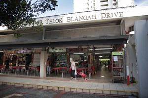 The hawker is a family member of another Covid-19 case from the Bukit Merah View cluster.