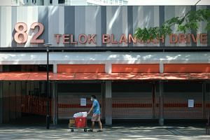 Blocks 79 and 82 Telok Blangah Drive Hawker Centre and Market have been closed for deep cleaning from June 16 to 18.