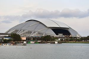 Singapore Sports Hub has been gradually reopening many of its facilities and locations.