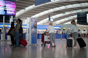 Britain has rules requiring quarantine and Covid-19 testing for travellers arriving from most places.