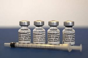 The Comirnaty vaccines are the same as the Pfizer-BioNTech shots that are now used in the national vaccination programme.