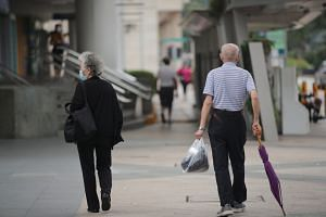 PM Lee said seniors were at risk of Covid-19 even if they did not go out much as they could catch the virus from friends or family.