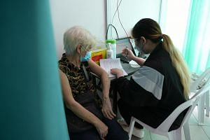 Of those aged 70 and above, 79 per cent have received at least one dose of vaccine.