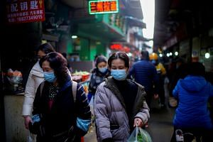 The authorities announced on Monday that seven locally transmitted infections had been found among migrant workers in Wuhan.