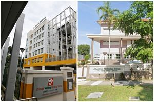 New Covid-19 clusters were formed at the Orange Valley Nursing Home in Simei and Jamiyah Nursing Home at West Coast Drive, on Sept 15, 2021.