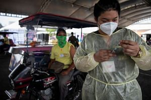 The Philippine government had begun experimenting with a scheme to use proof of vaccination as access cards.