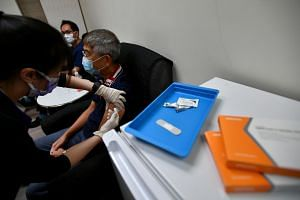 The Ministry of Health said three doses of the Sinovac vaccine will be required for a person to be considered fully vaccinated.