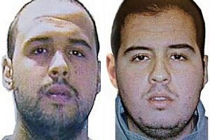 "Khalid (left) and Ibrahim El Bakraoui were reportedly listed as a ""potential terror threat"" in US databases."