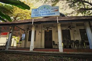 The woman was a household contact of a patient who had visited Samy's Curry Restaurant in Dempsey Road.