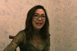 Michelle Yeoh on Crazy Rich Asians