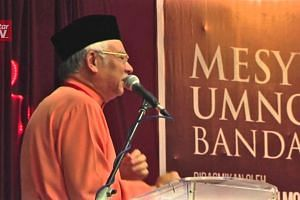 Najib: I receive funds not for myself but for Umno