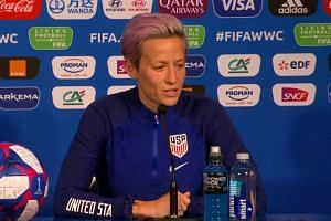 Megan Rapinoe stands by WH comments, minus 'expletive'