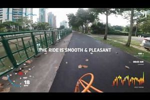 Cycling from Clementi to the CBD