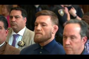 Conor McGregor appears in court on assault charges