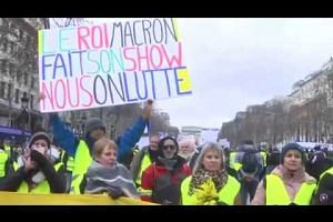France's 'yellow vest' protests enter 11th week
