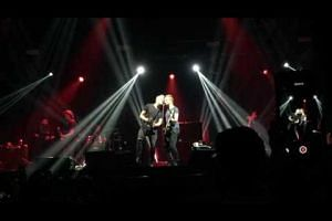 Sting and his son performing Shape Of My Heart