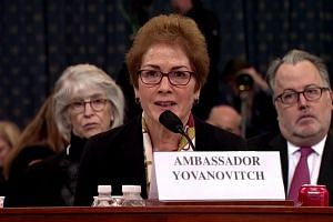 Trump attacks Yovanovitch as she testifies