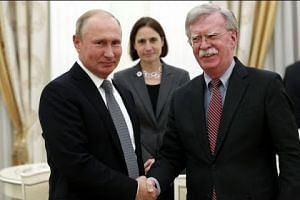 Fears of nuclear arms race as US and Russia meet