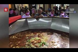 Fury after record-breaking Sarawak laksa thrown out