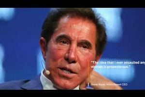 Wynn CEO: Sexual misconduct accusations 'preposterous'