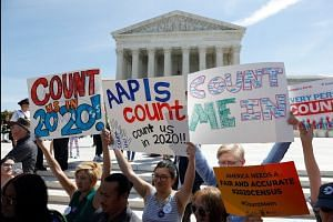 Activists rally against census citizenship question