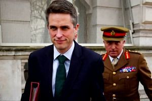British  defence minister strongly denies Huawei leak