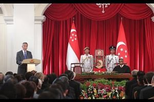 Inauguration of the 8th President of Singapore