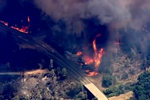 Two firefighters dead in California wildfires