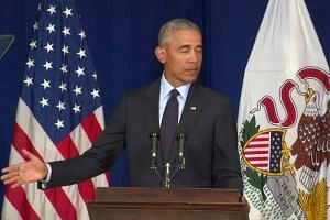 Obama on the Republican Party: 'This is not normal'