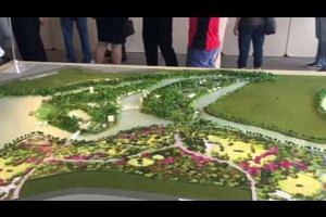 A model of Jurong Lake Gardens Central and East