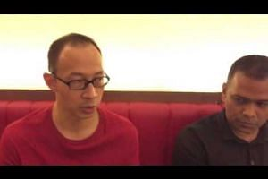 Mr Edwin Seah and Mr Gerard Christopher on their termination from the Singapore Environment Council