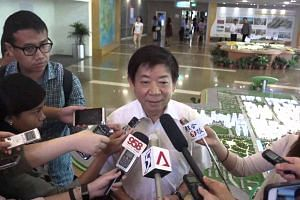 National Development Minister Khaw Boon Wan's doorstop on Aug 24, 2015
