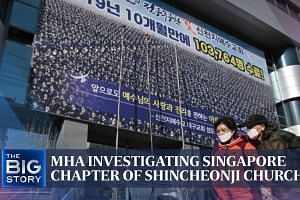 MHA investigating Singapore chapter of Shincheonji Church | THE BIG STORY | The Straits Times