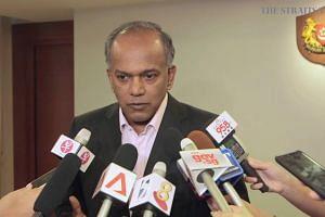 Shanmugam speaks on the Elected Presidency (1)