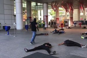 Highlights from Exercise Heartbeat held at the National Library on Sept 25, 2018