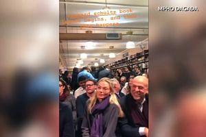 'Go back to Davos': Schultz heckled