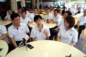 Tampines GRC MPs: Ex-public servant Joan Pereira speaking to reporters