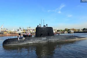'Abnormal' noise detected near missing Argentine sub: Navy