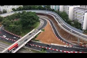New Braddell Flyover open to traffic