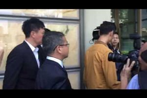 CHC appeal: Kong Hee leaving court
