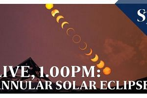 LIVE: 'Ring of Fire' Annular Solar Eclipse