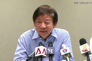 Singapore Transport Minister Khaw Boon Wan on port limits issue with Malaysia