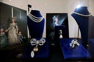 France's ill-fated queen Marie Antoinette's jewellery on display