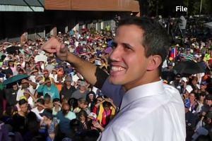 Trump backs Maduro rival amid massive protests