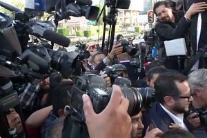 Frontrunner Lopez Obrador casts ballot in Mexico