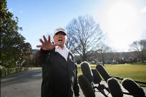 Trump says likely to declare emergency if no wall deal
