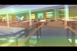 Virtual reality simulation of upcoming Funan mall