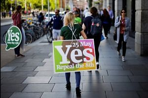 Ireland votes in 'once-in-a-generation' abortion referendum