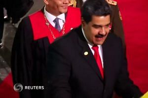 Defying critics, Venezuela's Maduro starts new termCS