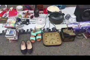 Sights and sounds at the Sungei Road flea market
